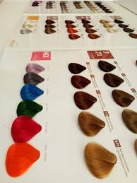 iso silky hair color mixing chart hair color swatch use in salon