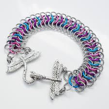 european bracelet designs images European weave maille addiction jpg