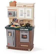 Furniture Kitchen Set Amazon Com Step2 Lifestyle New Traditions Kitchen Set Toys U0026 Games