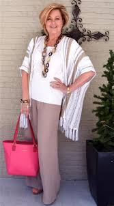 spring fashion 2016 for women over 50 white outfit with accessories 40plusstyle com fashion over 40