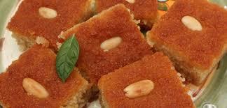 cuisine tunisienne gateau recette kalb el louz gâteau de semoule recette ramandan