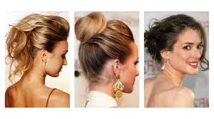 Hochsteckfrisuren Mittellange Haare Einfach by Hochsteckfrisuren Mittellanges Haar
