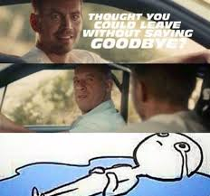 Fast And The Furious Meme - 9gag on twitter me at the end of fast and furious 7 http t co