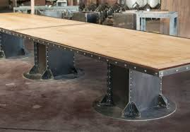 Vintage Conference Table Vintage Industrial Conference Table Dining Table