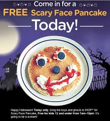 Get Free Pancakes At Participating Free Scary Pancakes At Local Ihops Will You Wish You Were