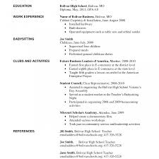 resume for high student pdf resume exle for high student with no experience job