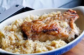 best ever pork roast and sauerkraut