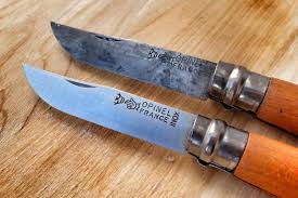 High Carbon Kitchen Knives by Practical Portable Single Minded Beautiful Opinel Is The