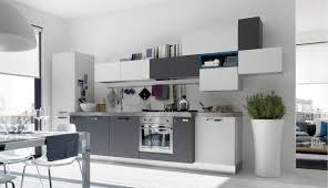 cuisine gris et emejing cuisine gris et blanche pictures design trends 2017