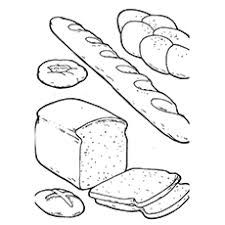 Bread Coloring Page 10 bread coloring pages for your one