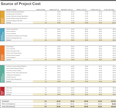 download project budget worksheet for free tidyform