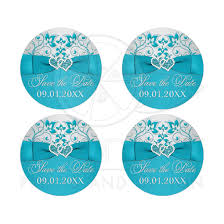 save the date stickers wedding save the date stickers printed ribbon joined jeweled