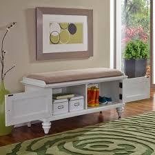 Home Decorators Storage Bench Home Decorators Collection Hamilton Polar White Bench 9200410400