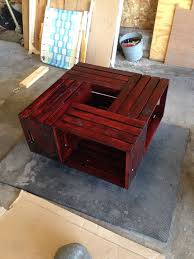 How To Make Wine Crate Coffee Table - 29 best coffee tables images on pinterest square coffee tables