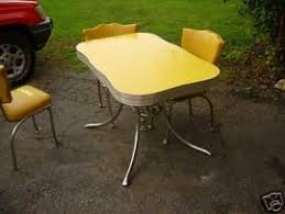 1950s chrome kitchen table and chairs chrome kitchen table kitchen design