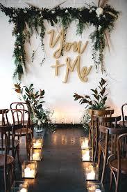 wedding altar backdrop stunning backdrop ideas the day simple indoor wedding