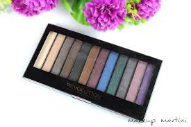 revolution usa makeup hot smoked palette review and swatchess