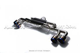 nissan gtr exhaust system armytrix titanium catback exhaust for nissan r35 gtr