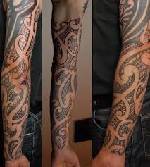 polynesian new zealand maori arm u0026 sleeve tattoo tatus
