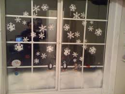 Decoration For Window Window Christmas Decoration Tutorial Youtube