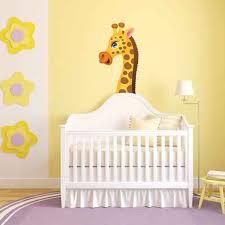 stickers savane chambre bébé stickers girafe chambre bb amazing stickers girafes et singes sur
