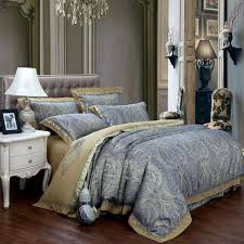 Gold Bedding Sets New Fashion Home Textile Satin The Wedding Jacquard 100 Luxurious