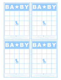 baby bingo printable the scrap shoppe