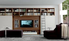Tv Wall Furniture Contemporary Tv Wall Unit Open System Jesse In Contemporary Tv