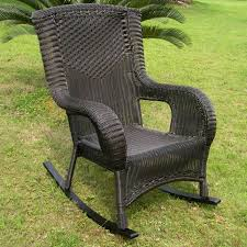 fresh wicker rocking chair patio 14554