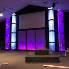 Easter Church Stage Decorations by Do We Even Need Projection To Create An Environment