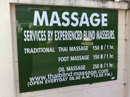 Blind Masseuse Blind Massages Of Southeast Asia Worldette