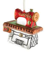 silver tree glass sewing machine on table ornament nordstrom rack