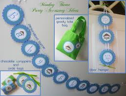 monkey theme baby shower customize your party and make it