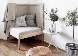 canapé d angle cocooning fauteuil d angle l astuce gain de place et cocooning déco clem