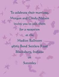 Reception Cards Wording Wedding Reception Only Invitation Wording Template Best Template