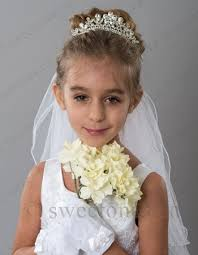 flower girl headbands communion veil accessories communion headbands