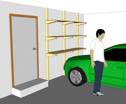 Wood Shelving Plans Garage by Garage Shelf Plans