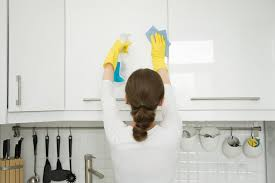 best way to clean white kitchen cupboards how to clean kitchen cabinet doors