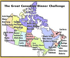 Blank Map Of Canada Provinces And Territories by The Great Canadian Dinner Challenge U2013 Chinook Honey Company