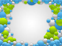 free elegant balloons backgrounds for powerpoint border and