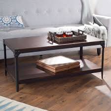 belham living trenton industrial end table 20 inspirations of espresso coffee tables