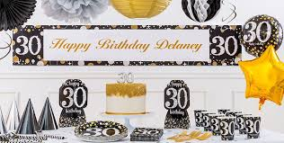 the party supplies sparkling celebration 30th birthday party supplies party city