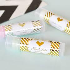 lip balm favors metallic foil lip balm favors bridal shower favor wedding favor