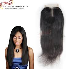 black hair weave part in the middle indian remy hair middle part lace closure straight www