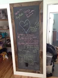 thebuilderfix a simple homemade kitchen chalkboard does wonders