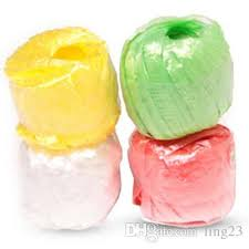 plastic ribbon wholesale new fashion 10 rolls pack colored plastic rope packaging