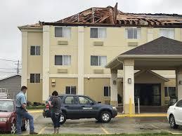 Comfort Suites Terre Haute In Update Severe Storm Damages Homes Businesses In Terre Haute