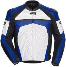 leather motorcycle jacket cortech adrenaline blue white leather jacket all sizes