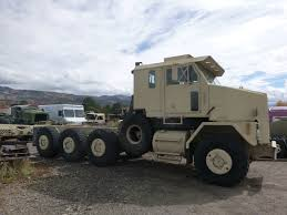 military transport vehicles awesome 1993 2005 oshkosh m1070 8x8 chassis cab 8v92 detroit