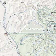 map us national parks maps glacier national park u s national park service